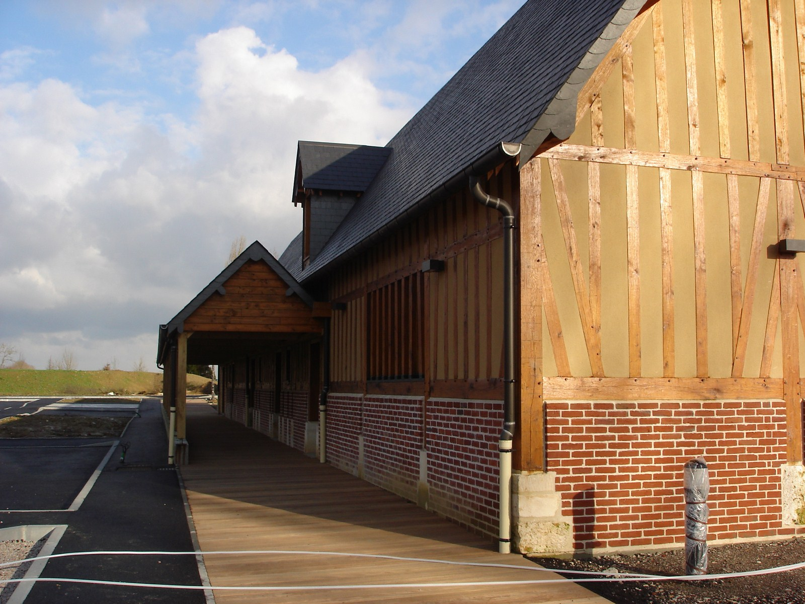 Charpente traditionnelle et Ossature bois - Lefebvre Sylvain Bureau d'études structure bois