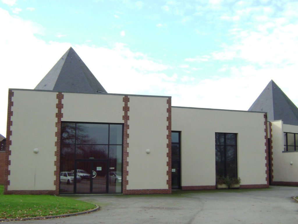 Maison Des Chasseurs Charpentes Traditionnelle - Bureau d'etudes structure bois : Lefebvre Sylvain - Vue Exterieur Arriere